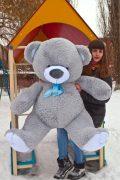 Серый мишка Томи 160см
