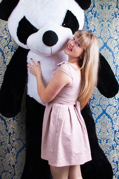 купить панду игрушку 2 метра
