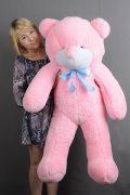Розовый плюшевый мишка Украина